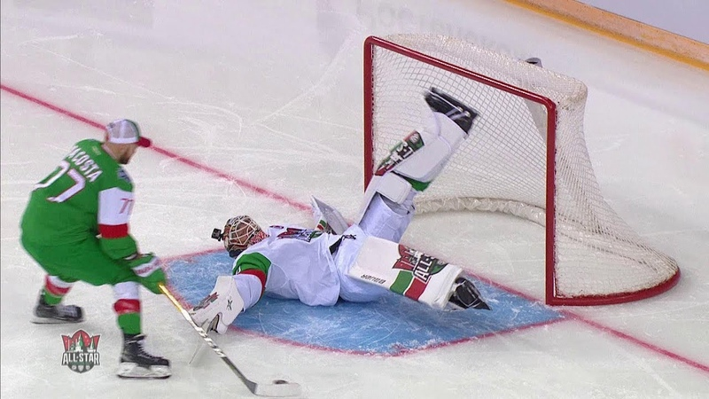 KHL All Star Game 2019 Save streak