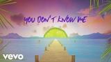 Sigala, Shaun Frank, Flo Rida - You Don't Know Me (Lyric Video) ft. Delaney Jane