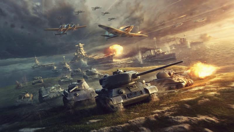 World of Tanks Внезапно и неистово рандомлю на СТ 7