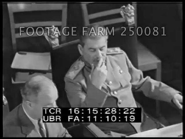 Potsdam Conference partial 250081-02 | Footage Farm