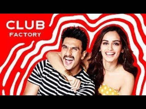 Manushi Chillar Ranveer Singh Club Factory Ad | Shop in Style