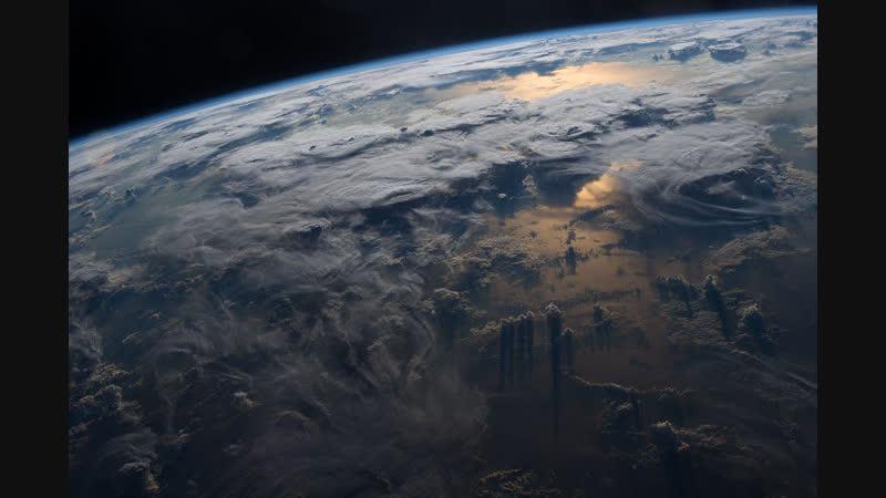 Вид Байконура с борта МКС