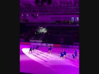 Соревнования по фигурному катанию III этап «Кубка России Ростелеком» 1