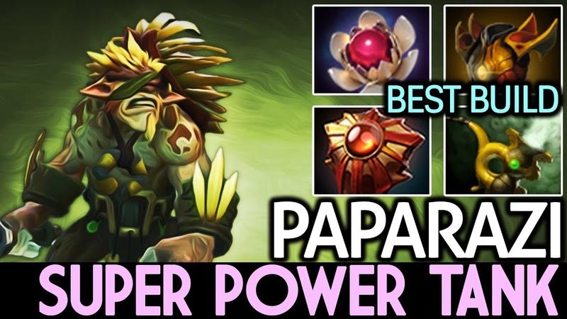 Paparazi [Bristleback] Super Power Tank! Best Build 7.18 Dota 2