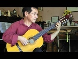 Dang Thao - SONATA IN DO MAGGIORE by N. Paganini - Classical Guitar
