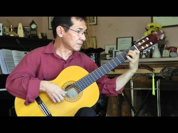Dang Thao - SONATA IN DO MAGGIORE by N. Paganini - Classical Guitar