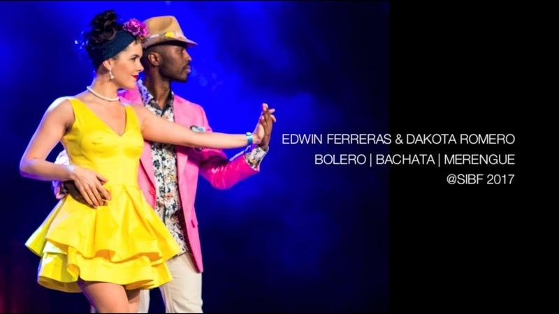 Bolero, Bachata y Merengue Dance (Edwin Dakota SIBF 2017)