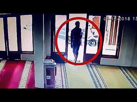 AKSI PENCURIAN DI DALAM MASJID TEREKAM CCTV