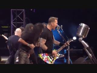 Metallica, Slayer, Megadeth, Anthrax - Am I Evil Live in Sofia 2010