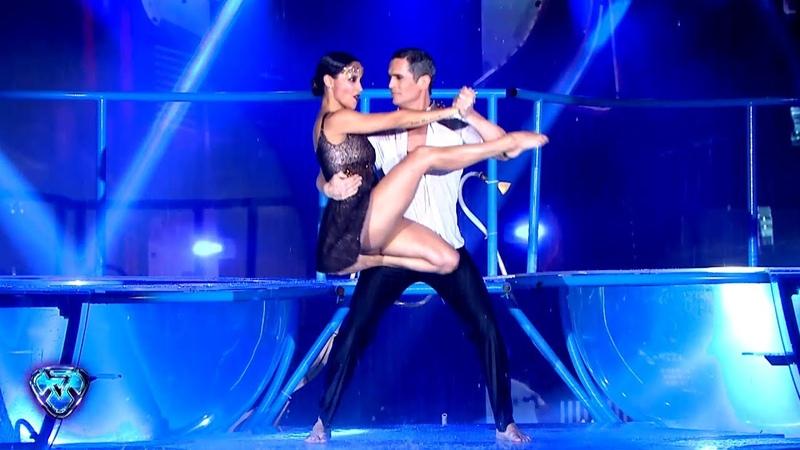 ¡Tremendo Aquadance de Lourdes Sánchez y Diego Ramos!