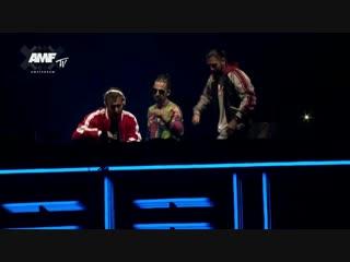 David Guetta x Dimitri Vegas & Like Mike - DJ Mag Top 100 DJs Awards, Amsterdam Music Festival (21.10.2018)