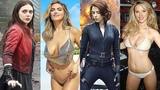 Elizabeth Olsen vs Scarlett Johansson Transformation