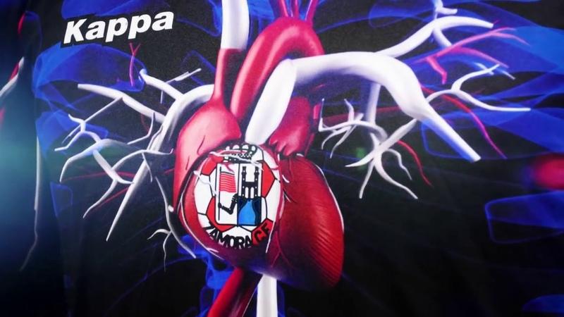 Футбольный клуб из Испании показал форму с кровеносной системой человек