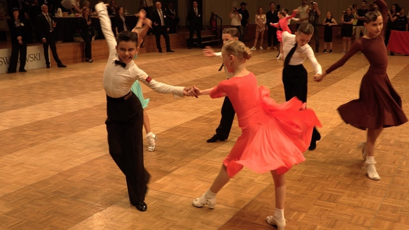 Maxim Tereshin Uliana Zelikovskaya RUS Cha Cha Cha GOC Juveniles II 8 Dance