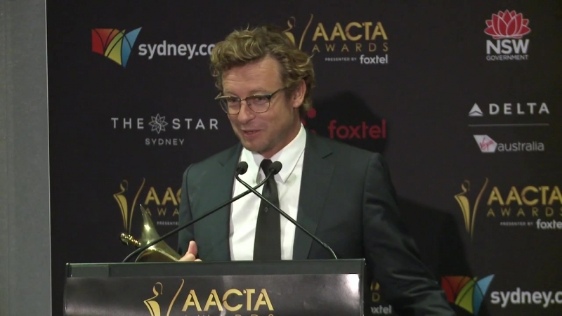 "Baker ""terrified"" of accepting AACTA Trailblazer award.mp4"