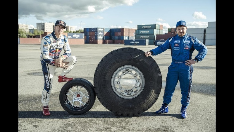 Пилот «КАМАЗ-мастер» Николаев устроил парный дрифт на грузовике