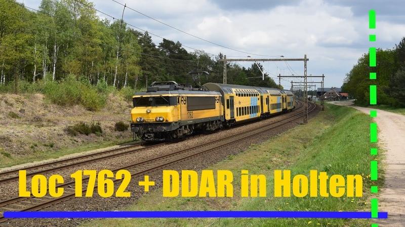 NS loc 1762 komt met DDAR 7373 door Twello