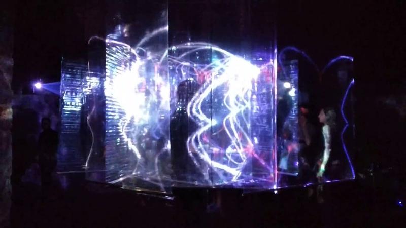 Лазерная инсталляция Путь из нигредо