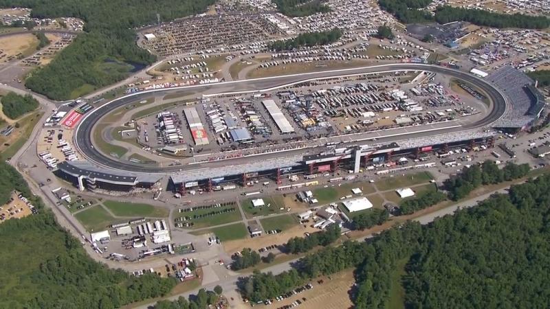Chopper Camera - New Hampshire - Round 18 - 2018 NASCAR XFINITY Series