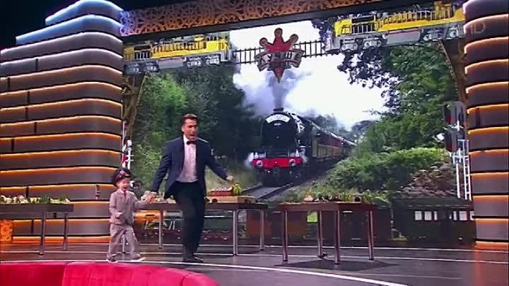 Юный чернушанин Егор Рыжов на программе Лучше всех! Егор - из семьи нефтяников, но мечтает стать машинистом, ведь он просто обожает поезда и знае...