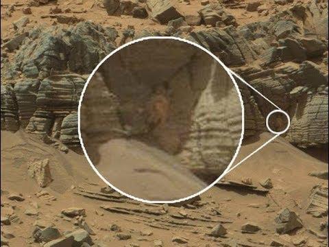 Из пещеры на Марсе выползло то,что даже описать невозможно.Новая громкая сенсация облетела весь мир