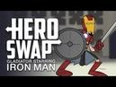 Железный Человек стал Гладиатором Смена Героя / Iron Man Starring Gladiator Hero Swap