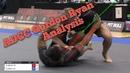 ADCC Jiu Jitsu Analysis - Gordon Ryan vs Romulo Barral