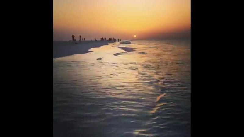 Закат солнца, Мальдивы. Таймлапс