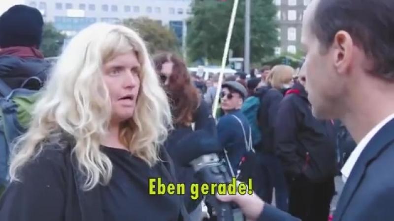 Realsatire- Antifa trifft in Chemnitz auf AfD-Politiker