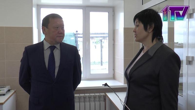 23.05.2019 Запустили завод по производству комбикорма(К)