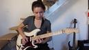 Шикарное соло Отель Калифорния от шикарной гитаристки
