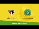 Sao Paulo vs Chapecoense (2-0) - Brazilian Serie A - Full match
