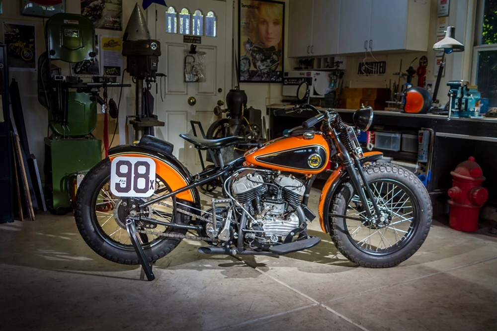 Кастом Harley-Davidson WRTT Leonard Special
