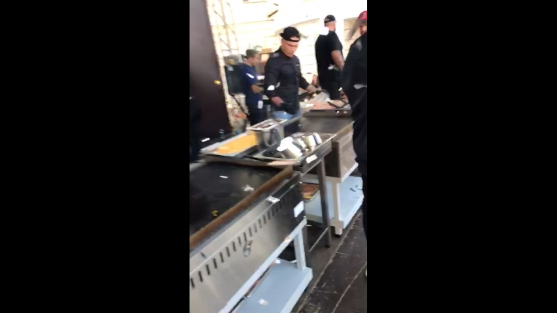 Открывали Blackstarburger с Тимати!