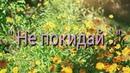 Не покидай... Автор, исполнитель и видеомонтаж Светлана Коробова