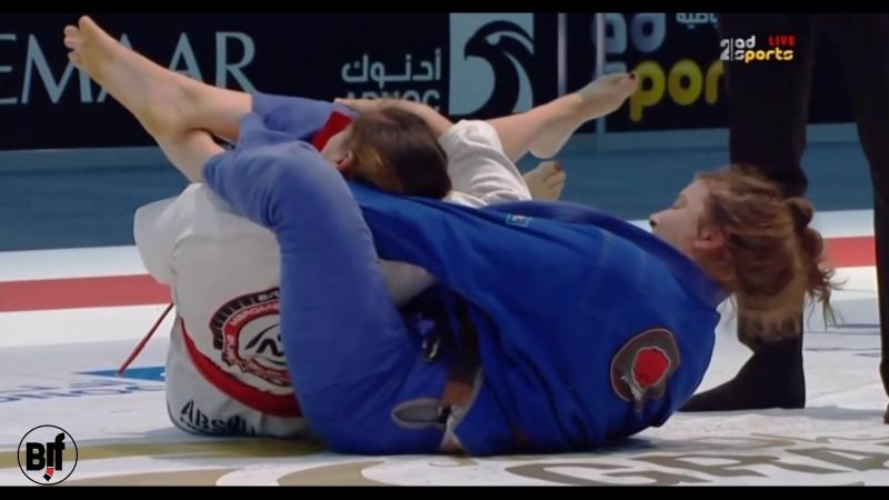 Shantelle Thomson vs Izadora Silva Abu Dhabi Grand Slam Los Angeles