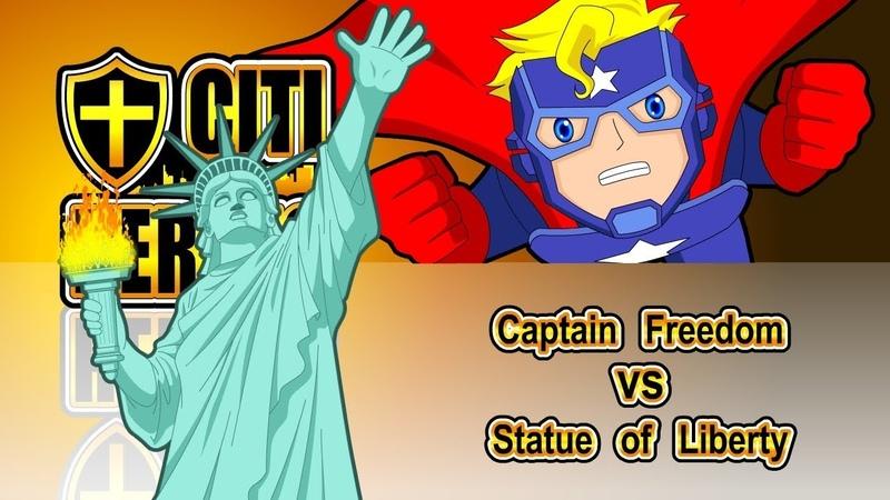 Citi Heroes EP80 Captain Freedom VS Statue Of Liberty
