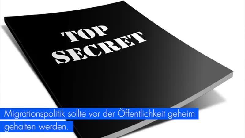Geheimpapier zeigt- Bürger werden von Regierung hinters Licht geführt- - AfD-Fraktion im Bundestag
