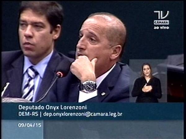 Deputado Onyx Lorenzoni é categórico Vaccari Neto, do PT, mentiu