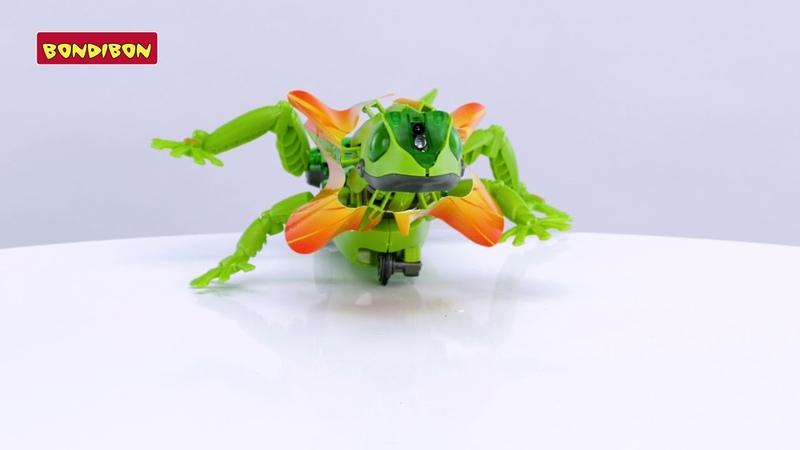 Робот-ящерица - Французские научно-познавательные опыты Науки с Буки