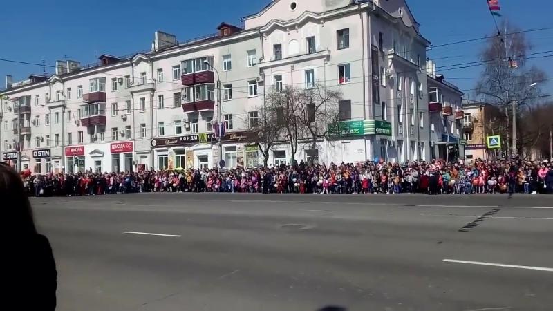 Марш памяти посвященный 73 й годовщине Победы в ВОВ 09 05 2018 г Комсомольск на Амуре