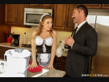 студия brazzers What A Maid Wants Britney Amber &amp Charles Dera BEX Brazzers Exxtra November 13, 2018