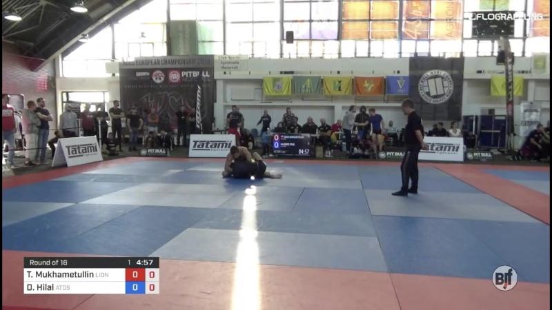 Timur Mukhametullin vs Daniel Hilal 1st ADCC European Trials