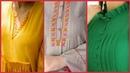 Latest Designer Neck Designs For Lawn Dresses