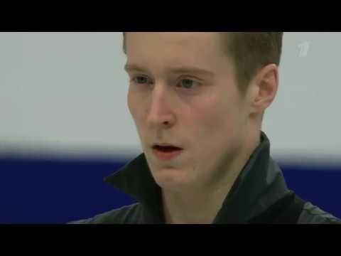 Александр Самарин Короткая программа Чемпионат Европы пофигурному катанию 2019 Мужчины