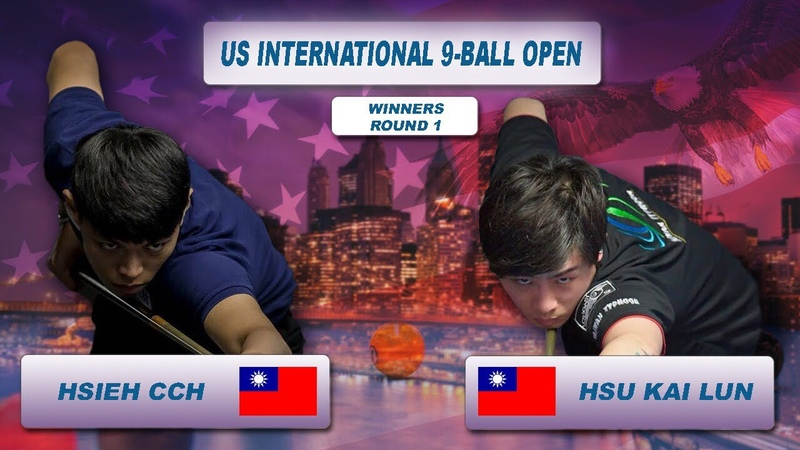 Hsieh CCH - HSU Kai Lun | US International 9-Ball Open 2018