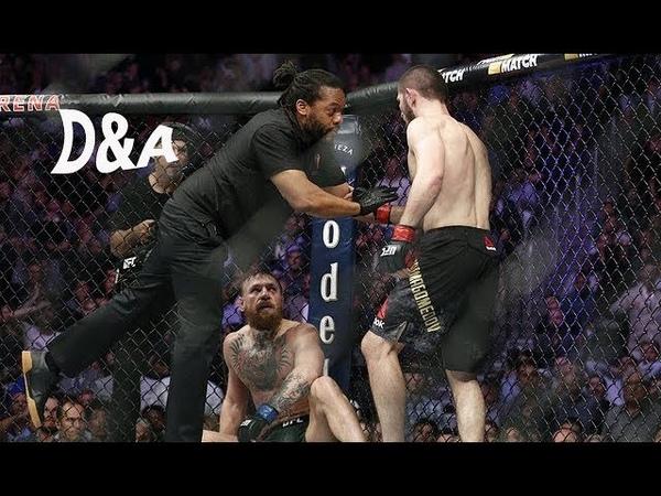 Conor McGregor PES ETTİ AND Khabib Nurmagomedov Dövüş ve Adrenalin