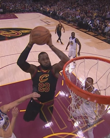 "NBA on Instagram: ""@kingjames uses the glass! ... (🏀: @trailblazers/@lakers ⏰:10:30pm/et 📺:ESPN)"""