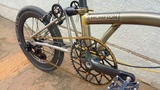 Ultra lightweight 3 Speed Brompton Raw Lacquer 7.8kg