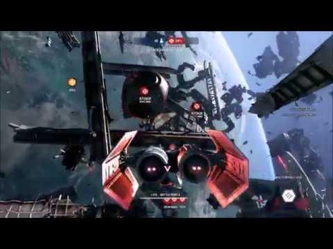 Some SW BF2 Starfighter Assault Gameplay